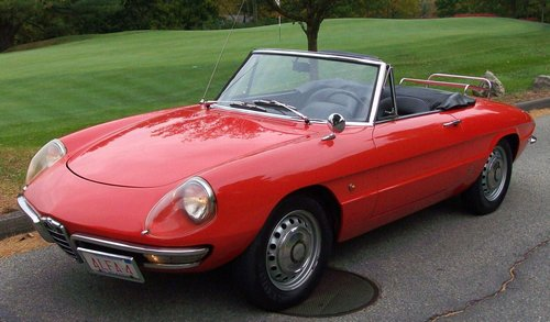Superior ... 1966 Alfa Romeo Roadster. Ordinaire ... The More Fun They Are, But  1960s Sports Car Fun,